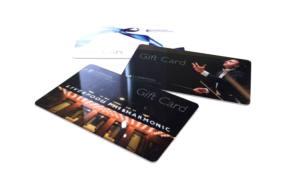 close up image of black gift cards
