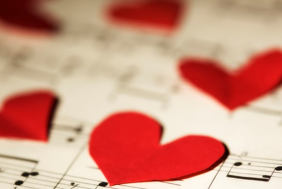 Songs from the Musicals for Valentine's Day